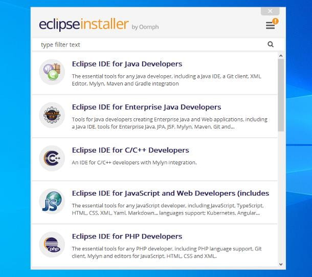 Come installare Eclipse su Windows
