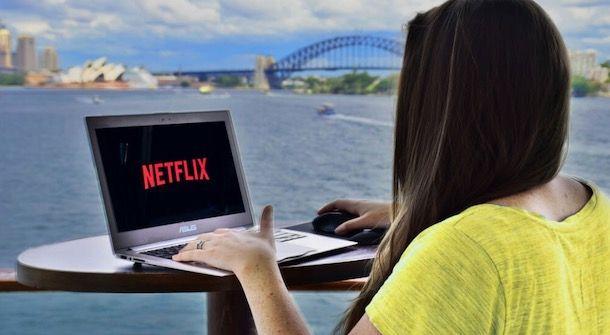 Netflix in viaggio