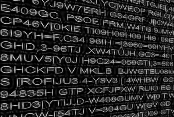 Utilizzare una password sicura