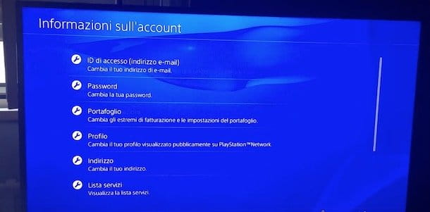 Come cambiare la password di PSN