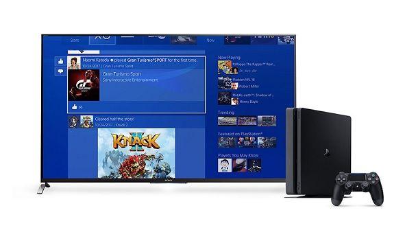 Posizionare PS4