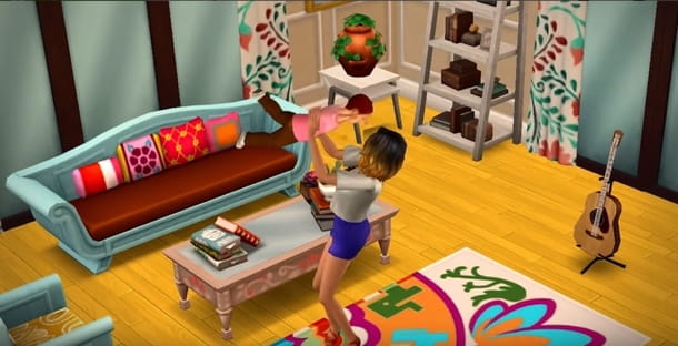 Famiglia in The Sims Android