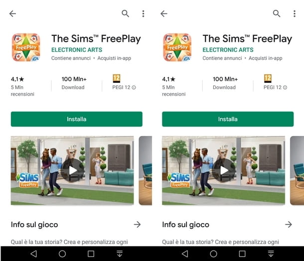 Scaricare e installare The Sims FreePlay