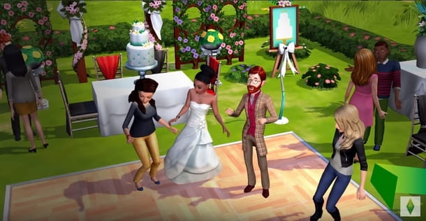 Matrimonio in The Sims Mobile