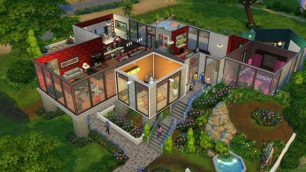 Divertirsi con i soldi infiniti su The Sims