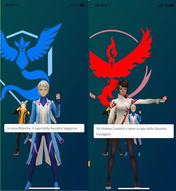 Quale team scegliere su Pokémon GO