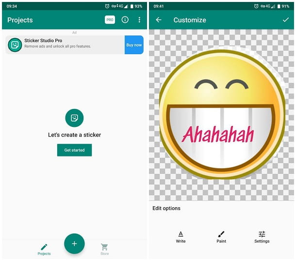 Come creare uno sticker WhatsApp Android