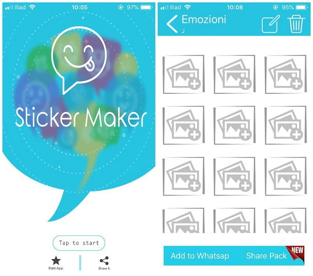 Come creare uno sticker WhatsApp iOS