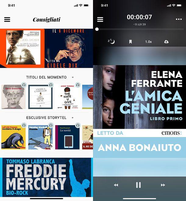 Come ascoltare audiolibri gratis