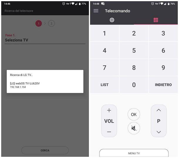 Come usare la TV senza telecomando - App del produttore