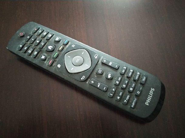 Sblocco telecomando televisore Philips