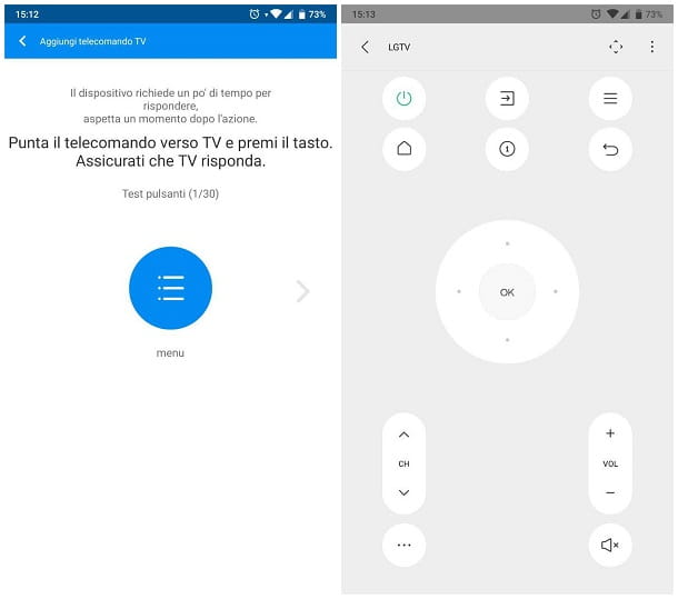 Come usare la TV senza telecomando - App per telecomando