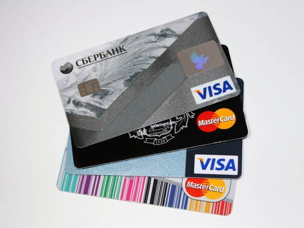 Pagare bollette con carta di credito