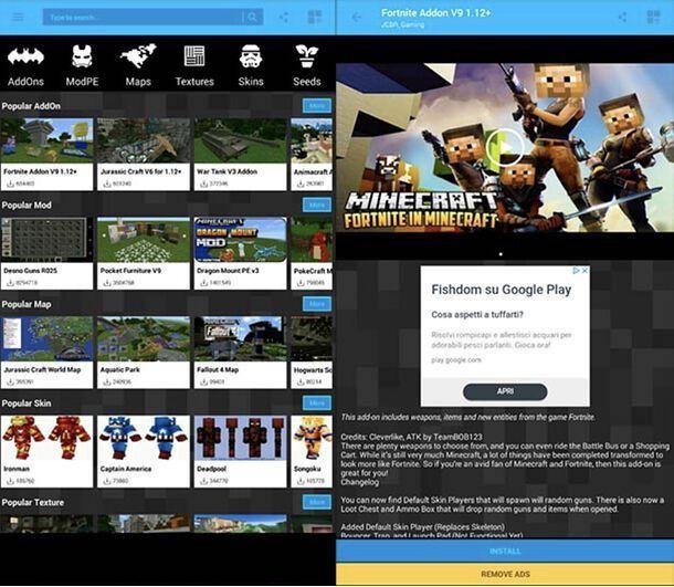App Mod Minecraft