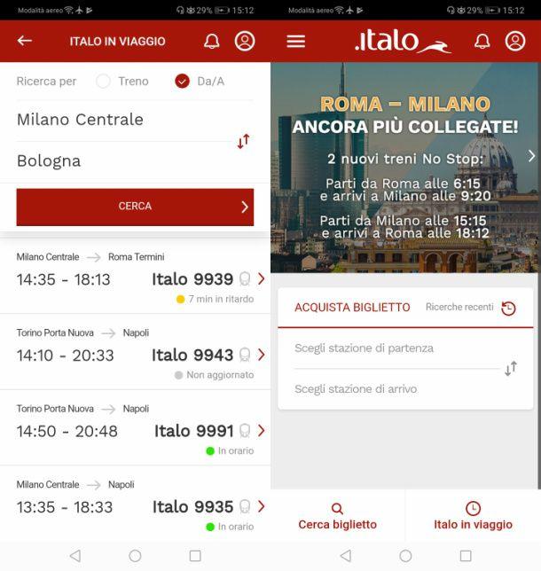 App Italo