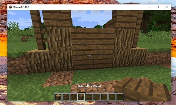 Assi di abete Minecraft