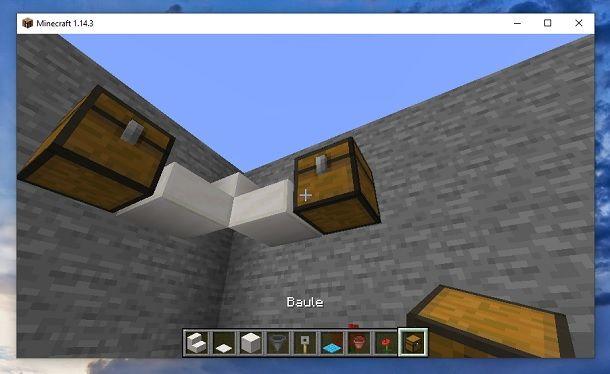 Baule Minecraft