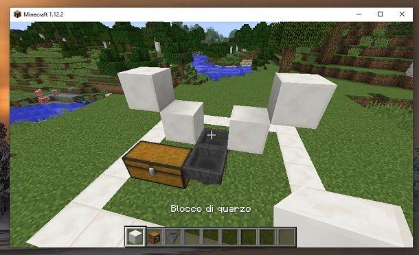 Blocchi alto e rompi blocchi Minecraft