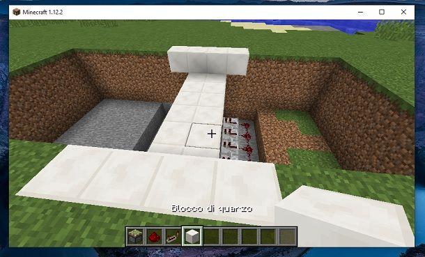 Blocco di quarzo Minecraft