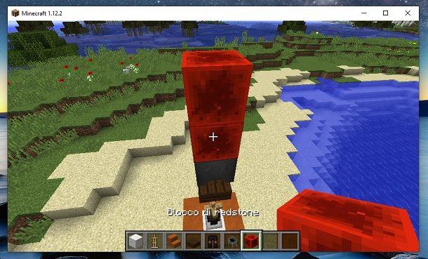 Blocco di redstone Minecraft