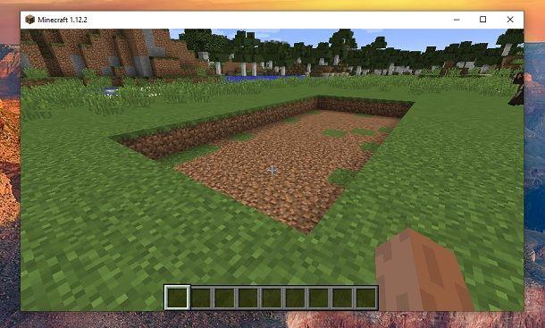 Buco Minecraft