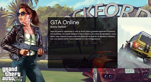 Caricamento GTA Online