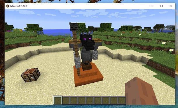 Come creare una statua di drago su Minecraft