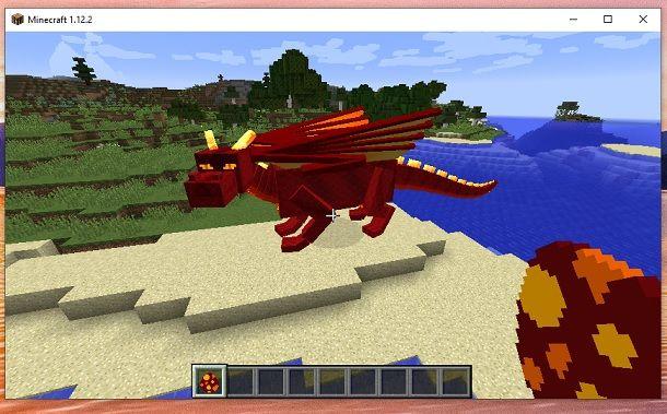 Come fare schiudere uovo di drago Minecraft