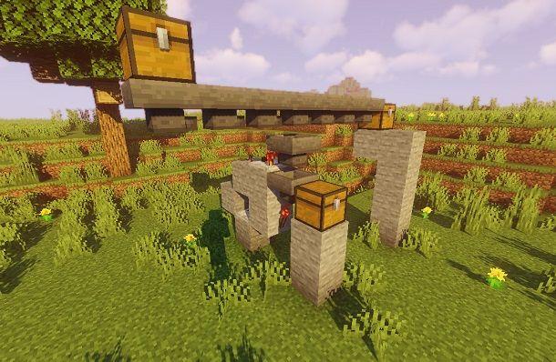 Come fare un magazzino automatico su Minecraft