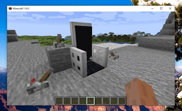 Come fare una sedia da gaming su Minecraft