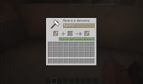 Come usare la targhetta su Minecraft