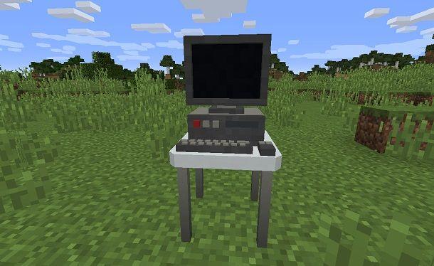 Computer funzionante su Minecraft