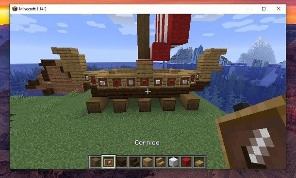 Cornice Minecraft