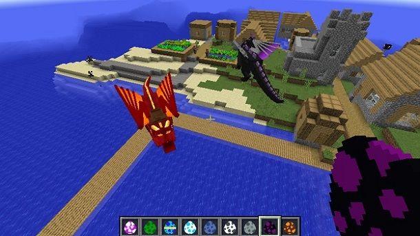 Draghi Minecraft