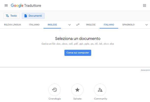Siti per traduzioni