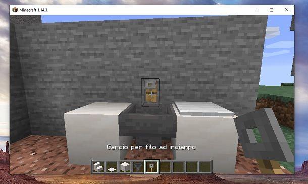 Gancio per filo a inciampo Minecraft