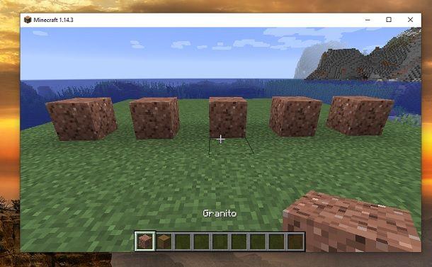 Granito Minecraft