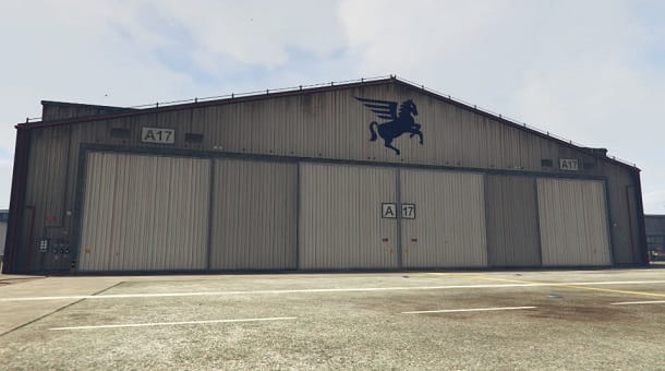 Hangar su GTA Online