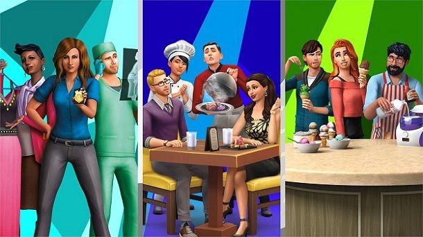 Lavori The Sims
