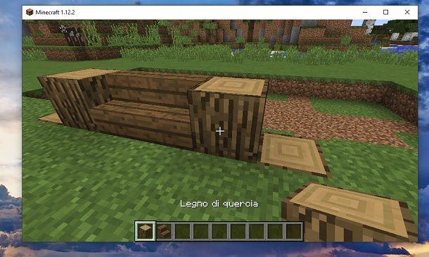 Legno di quercia 2 Minecraft