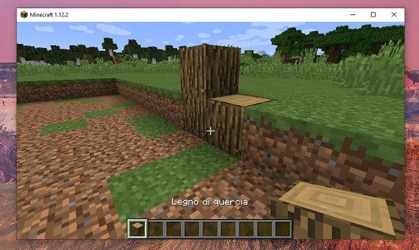 Legno di quercia Minecraft