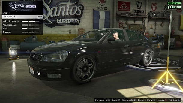 Los Santos Customs GTA Online