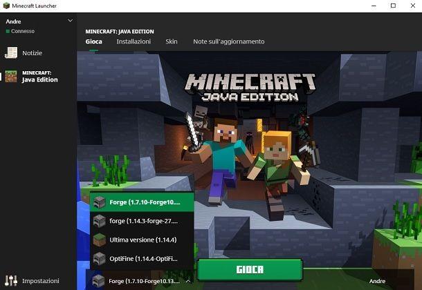 Minecraft Launcher
