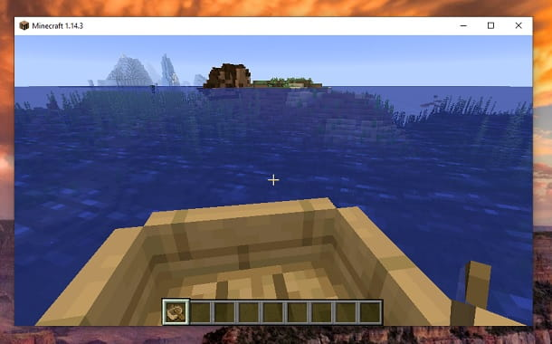 Navigare Barca Minecraft