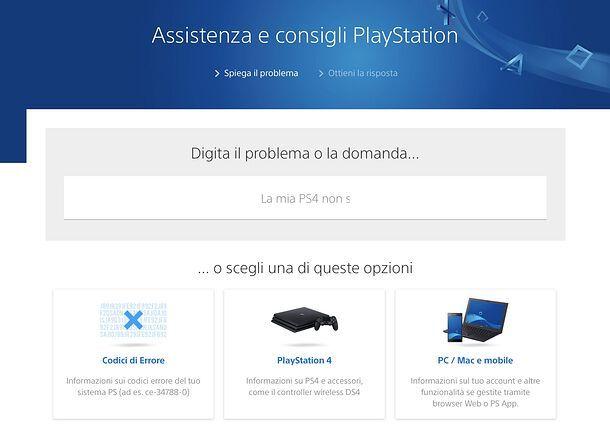 Supporto PS4