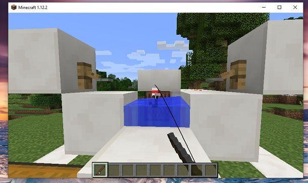 Pesca infinita Minecraft
