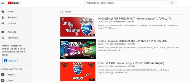 Professionisti Rocket League