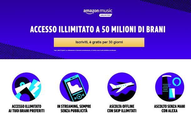 Problemi con Amazon Music