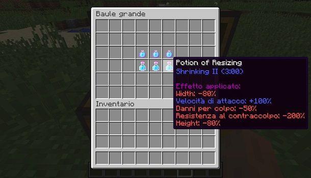 Resizing Potion