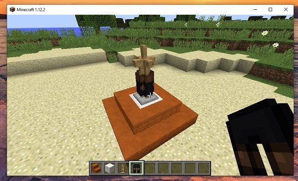 Rompi blocchi Minecraft